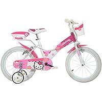 Dino Bikes - Bicicleta Hello Kitty, 16 pulgadas
