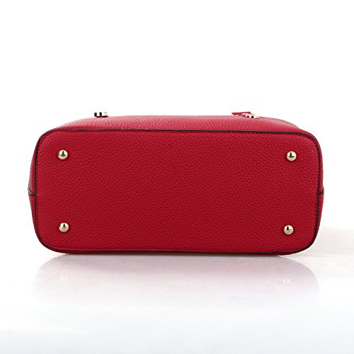 Mefly Die neuen Handtasche Crossbody-tasche All-Match Simple Mode Claret
