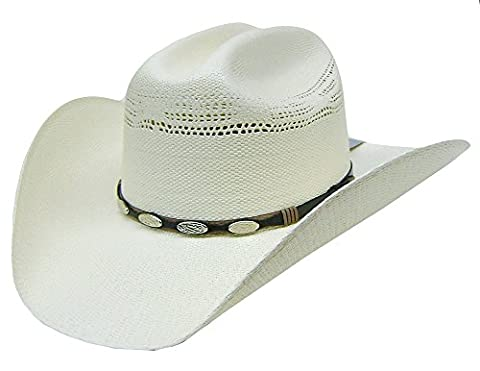 Modestone Unisex Traditional Straw Chapeaux Cowboy