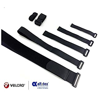 2 Gepäckgurte mit Klettverschlüssen von Alfatex by Velcro