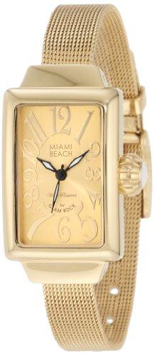 Glam Rock MBD27147 - Reloj de pulsera Mujer, color Oro