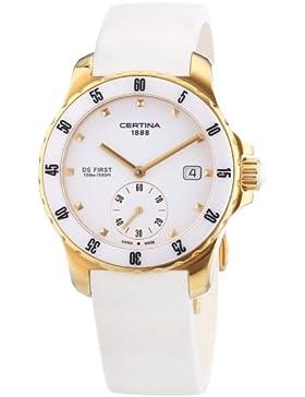 Certina Damen-Armbanduhr XS Analog Quarz Kautschuk C014.235.37.011.00