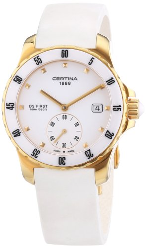 Certina Ladies'Watch XS Analogue Rubber Quartz C014,235,37,011,00