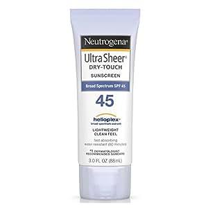 Neutrogena Ultra Sheer Dry-Touch Sunblock, SPF 45, 88 ml