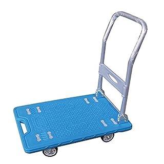 552165 Einkaufswagen, robust, leicht, zusammenklappbar, Kunststoff, 150 kg