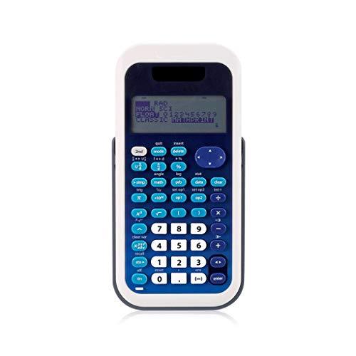 Standard-Taschenrechner Study Scientific Calculators LED-Hochauflösungs-Vierzeilendisplay Klarer Schutz Binocular Dual Power Multifunktionsrechner Bürobedarf & Schreibwaren