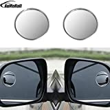 HANO Miroir pour véhicules de Blind Spot 1pair Universal Driver 2 Side 360 ??degrés...