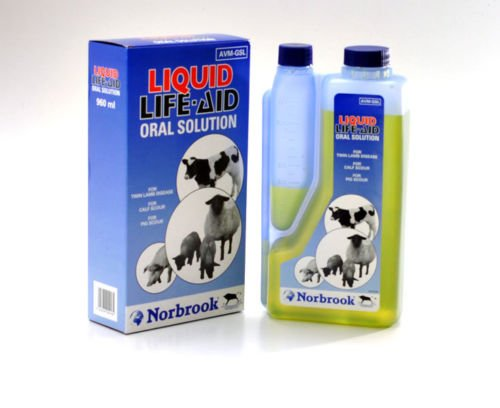 Norbrook Liquid Life Aid 960ml life Saver For Bitches Whelping & Raising Puppies Cats Dogs Farm Animals 1