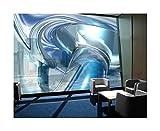 Apalis XXL Fenster Wandbild Cold Steel, Größe: 270cm x 288cm