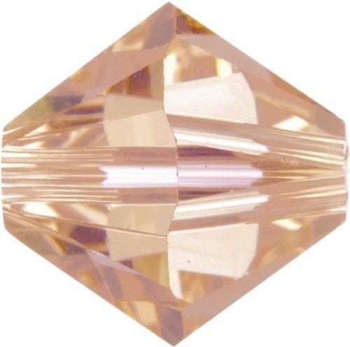 Original Swarovski Elements Beads 5328 MM 4,0 - Olivine (228) ; Diameter in mm: 4.0 ; Packing Unit: 1440 pcs. Light Peach (362)