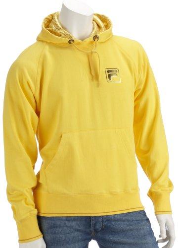 fila-sweat-shirt-homme-jaune-medium