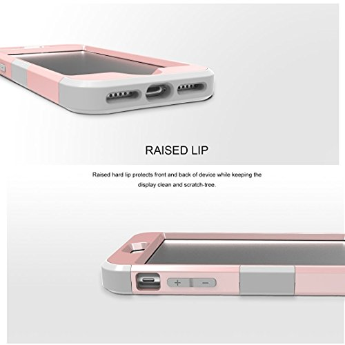 GHC Cases & Covers, Für iPhone 7 3 in 1 Diamond verkrustete PC + Silikon Kombination Fall ( SKU : Ip7g3200jb ) Ip7g3200rgh
