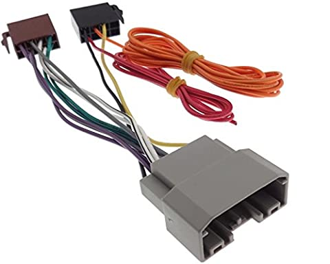 ISO Radio Adapter Jeep Wrangler Dodge Nitro Chrysler Voyager DIN Stecker Kabel