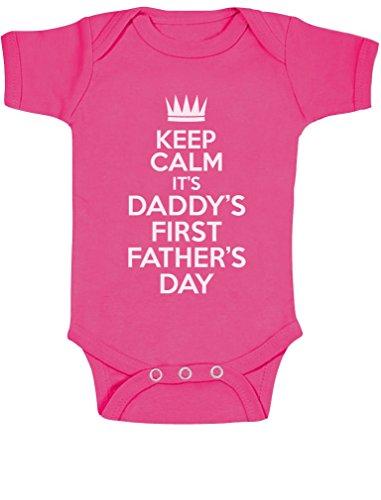 Keep Calm Daddy de primer día del padre regalo nuevo Dad body de dise