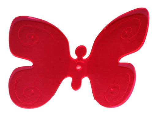 garten-bronder-ek-10251-lilau-farfalla-decorativa-riposizionabile-larghezza-18-cm-colore-rosso