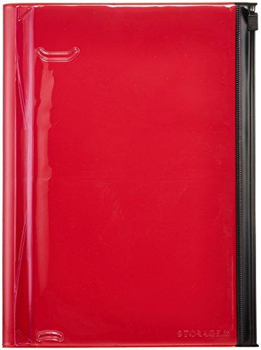 Storage.it Notizbuch L - rot: Format: 21,6 x 16,4 21,6