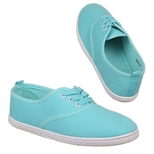 Chaussures pour femme, chaussures, 9576 Bleu - Turquoise
