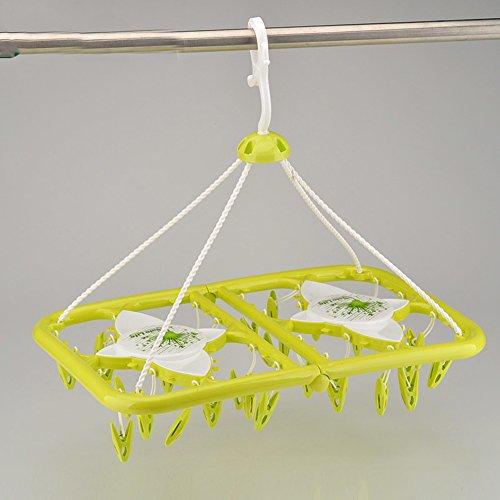 Hängend trocknen wäscheständer,Windsack slip hängen rack unterwäsche wäscheständer wäscheständer klappbar-A