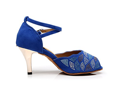 Miyoopark , Salle de bal femme Blue-7.5cm Heel