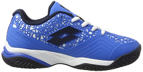 Lotto Sport Viper Ultra Jr L, Chaussures de Tennis Mixte Enfant Bleu (Blu Atl/blu Avi)