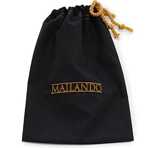 Mailando - Foulard - Homme Bleu Marine