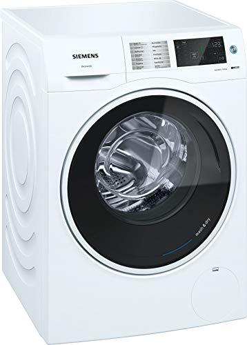 Siemens WD14U510 Waschtrockner/A / 1364 kWh/Jahr / 1400 UpM / 10kg / 25000 L/jahr / Schaumerkennung