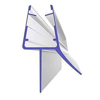Ersatzdichtung 70cm 700mm für 5mm, 6mm, 7mm und 8mm 8864 Glasstärke Duschdichtung Wasserabweiser Ersatzdichtung Duschprofil Duschtürdichtung