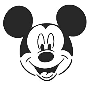 MICKEY MOUSE Airbrush, Wall Art , Paint Stencil, Genuine Mylar Re-Useable 125 micron