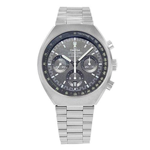 Omega Speedmaster Mark II - Reloj (Reloj de pulsera, Masculino, Acero, Negro, Luz metálico, Acero, Luz metálico)