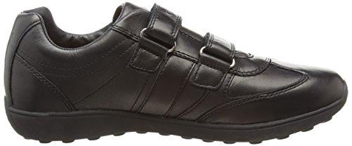 Geox J Xitizen B, Jungen Sneakers Schwarz (Blackc9999)
