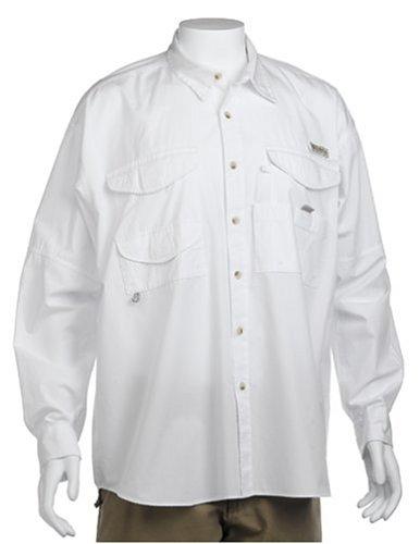 Columbia Herren Bonehead Langarm Shirt Groß, Weiß, XXXX-Large - Columbia Bonehead Shirt Angeln