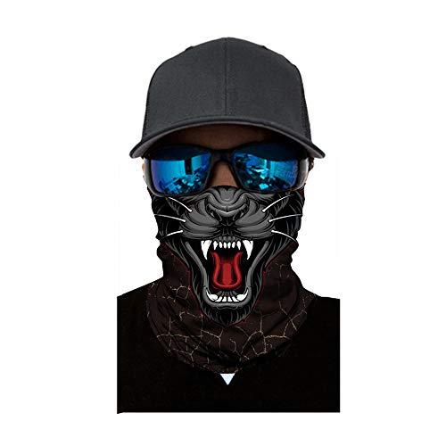 bescita 2018 Horror Totenkop Maske Clown Halstuch Halloween Karneval Kostüm Fasching Party Radfahren Motorrad HOT (B)
