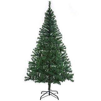 Casaria-Weihnachtsbaum-Knstlicher-Tannenbaum-mit-Lichterkette-Christbaum-Metallfu-Christbaumstnder-Weihnachten-Tanne
