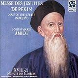 Amiot - Messe des Jésuites de Pékin