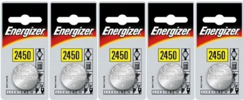 Energizer 2450 CR2450 Lithium 5er Set (5 Stück Batterien)