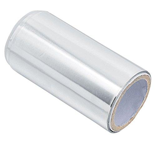 B Baosity Aluminium D'aluminium De Feuille D'aluminium De Manucure De Papier D'épaississement Pour Des Cheveux Ou Des Ongles 5m X 10cm