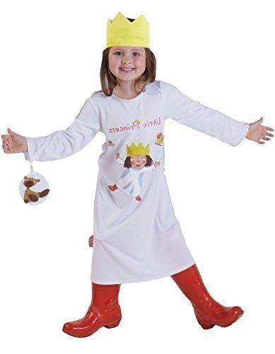 Mädchen Offizieller The Little Princess Cartoon Charakter Buch Tag Fancy Kleid Kostüm Outfit 2-6Jahre - Weiß - Weiß, 2-3 Jahre