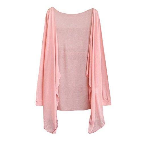QUINTRA Women Floral Print Chiffon Loose Shawl Kimono Cardigan Top Cover up Shirt Blouse