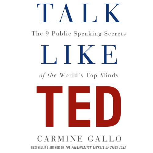 Buchseite und Rezensionen zu 'Talk Like TED: The 9 Public Speaking Secrets of the World's Top Minds' von Carmine Gallo