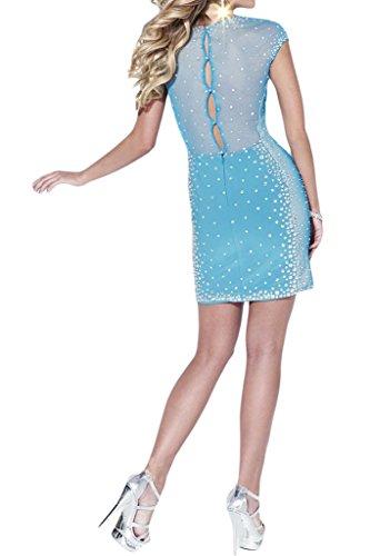 Promgirl House - Robe - Crayon - Femme Bleu