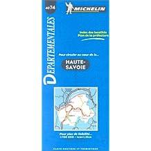 Carte routière : Haute-Savoie, 4074, 1/150000