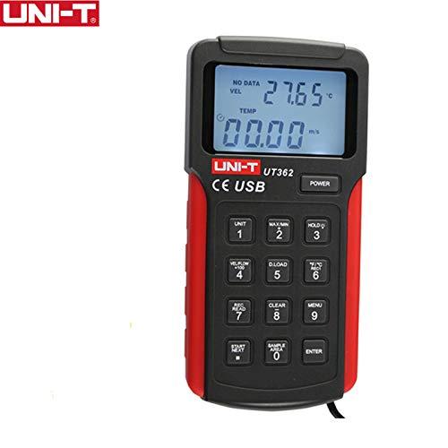 UT362 Digitaler Anemometer Datenspeicher USB Datenübertragung Temperatur/Windgeschwindigkeit/Luftvolumen Professioneller Anemometer - Acoustic Research Performance Serie