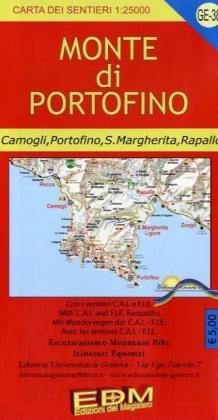 Preisvergleich Produktbild EDM Wanderkarte Monte di Portofino