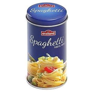 Erzi Juego de imaginación Grocery Madera Shop Mercancías Espagueti en una Lata