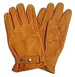 Westernwear Westernhandschuhe & Reithandschuhe Nappaleder Unisex Westernhandschuhe Reitsporthandschuhe Lederhandschuhe Cowboy Leather Gloves Outdoor Braun