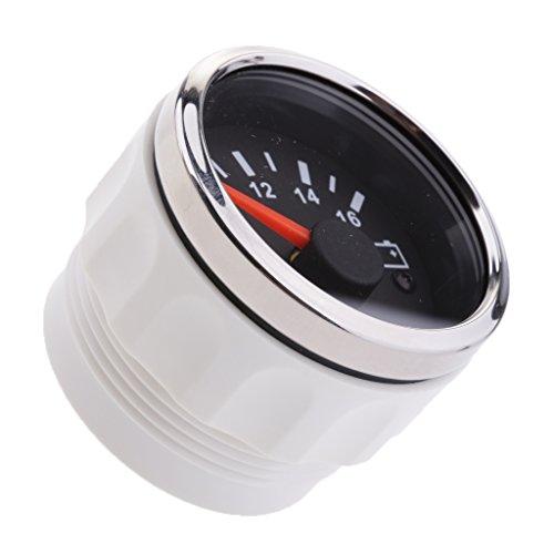 ePathChina 2 52MM 12V 8~16V Universal LED Electrical Car Voltmeter Voltage Gauge Meter