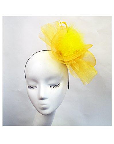 Exceptional Products - Bandeau - Femme taille unique Jaune