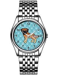 Reloj de Lujo para Hombre, 30 m, Impermeable al Agua, con Fecha,