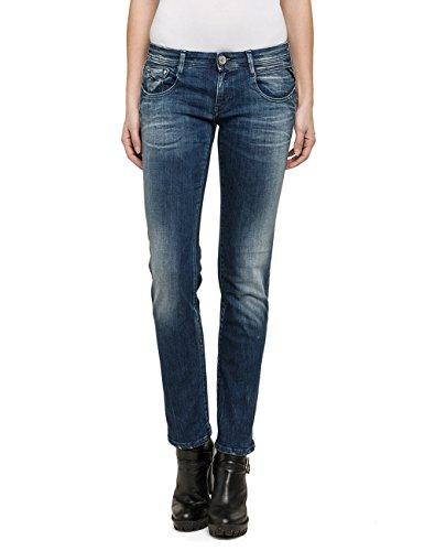 Damen Stretch-wolle Slim Pant (Replay Damen Slim Jeanshose Jodey, Gr. W28/L32 (Herstellergröße: 28), Blau (Blue Denim 9))