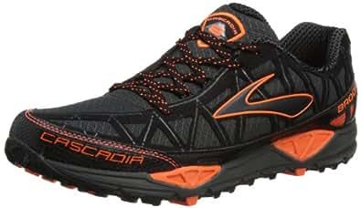Brooks Men's Cascadia 8 M Running Shoes, Iron/Black